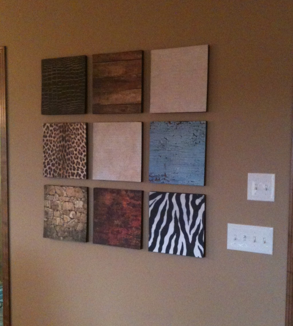 diy wall d cor super easy super cheap super cool
