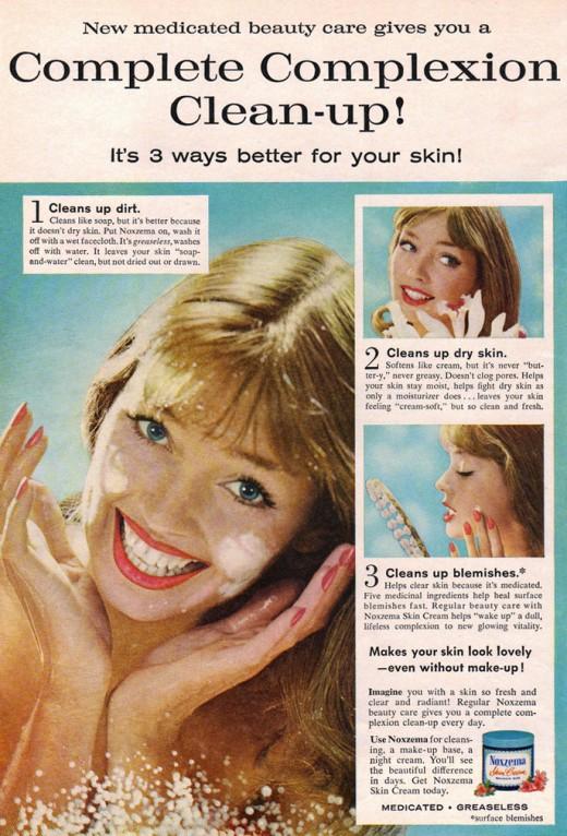 Vintage Noxzema Ad