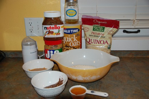 Everything you need to make the bites