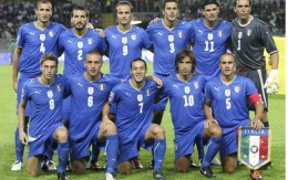 Italy's World Cup 2010 team.