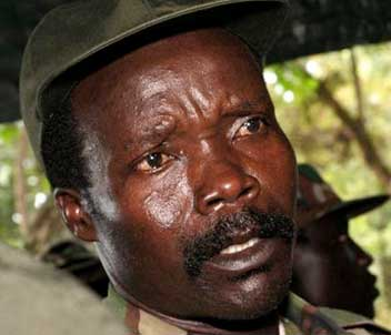 Joseph Kony, leader of the LRA