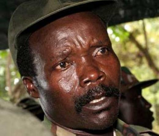 Joseph Kony, leader of the LRA