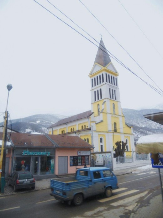 Catholic Church in Peje, Kosovo