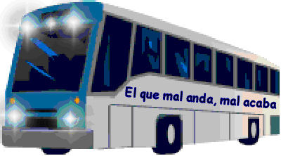 He who travels badly, arrives badly (stressed out). First Class bus travel in Mexico is cheap and comfortable.