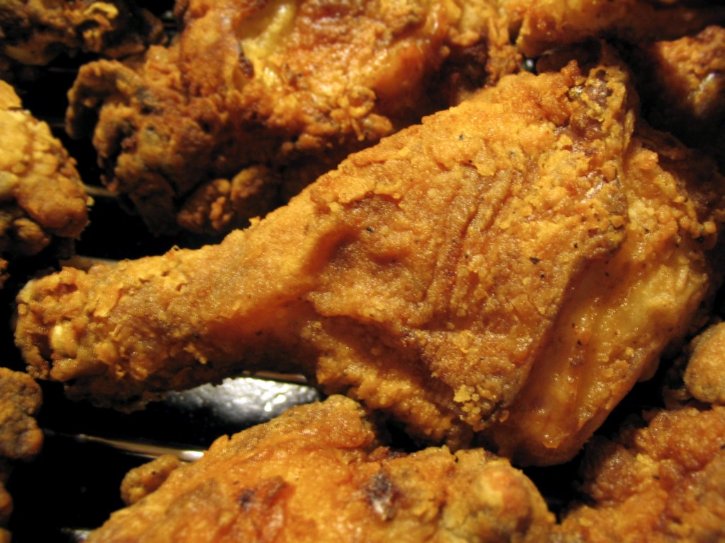 Southern Country-Fried Chicken: Crisp, Deep Brown, and ...