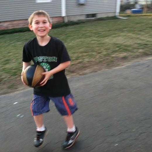 Learning basketball