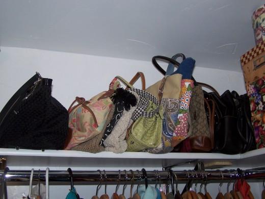 organized purses.