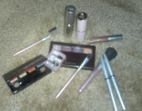 This photo shows just a few of the Mary Kay cosmetics I own today.  I have used the skin care collection and various cosmetics in fabulous colors for years.  I have also had the pleasure of owning some wonderful fragrances as well.