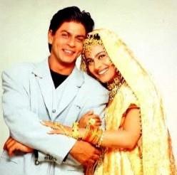 Shahrukh Khan and Kajol in Kuch Kuch Hota Hai
