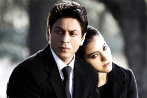 Sharukh Khan and Kajol in My Name Is Khan.