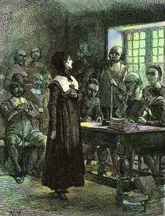Trial of Anne Hutchinson