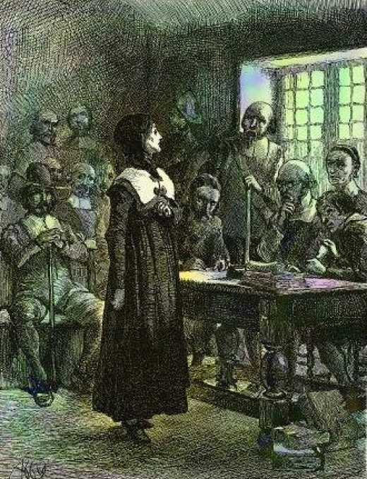 Trial of Anne Hutchinson