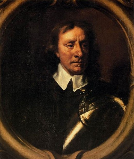 Oliver Cromwell by Sir Peter Lely
