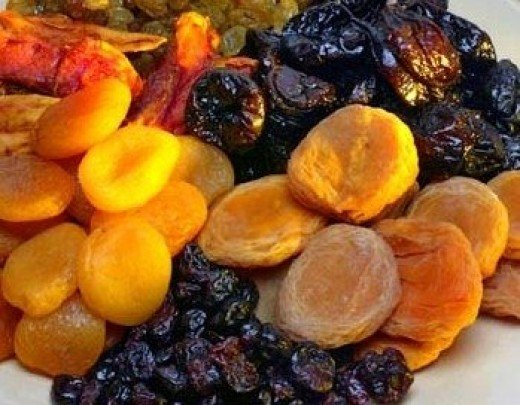 Fig, Rasin and Prune tea is good for constipation.