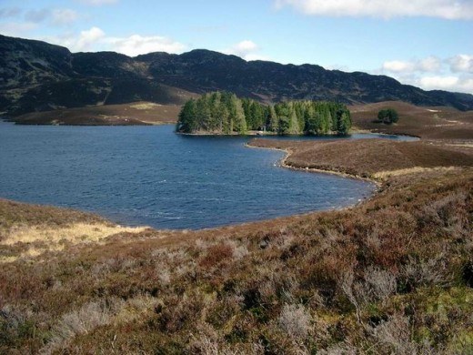 Loch Derculich - is this home to the a water demon known as the water bull?