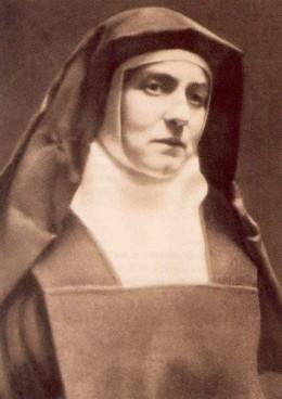 Saint Edith Stein, a Jewish convert