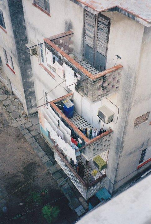 My view of the neighbors in Havana