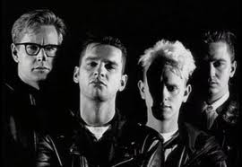 "Depeche Mode circa 1991 from the video for ""Enjoy the Silence"""