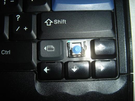 Missing key cap needed fixing.