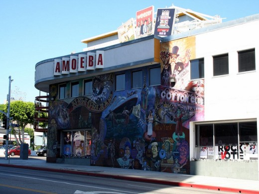 Amoeba Records on Sunset