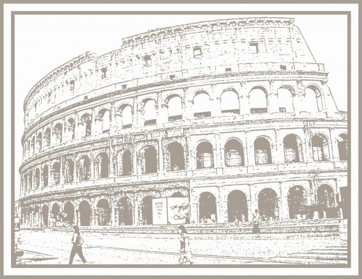 The glorious Flavian Amphitheater, The Colosseum