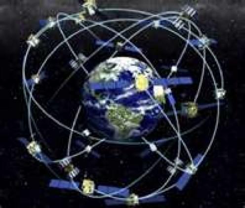 Earth's various satellites