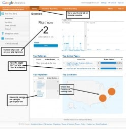Google Analytics Real Live Beta: See Your Stats Before Your Eyes!
