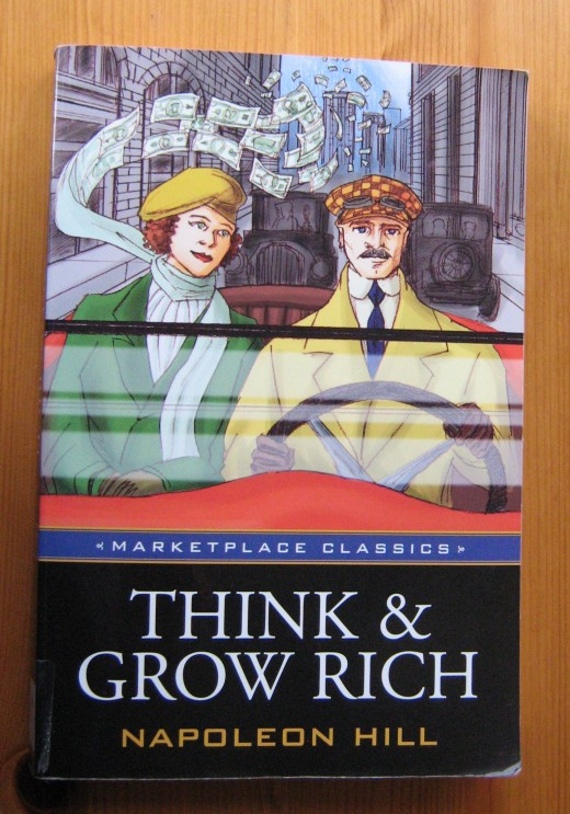 Rich Napoleon Hill Beard King Guys Follow For Daily: My Copy Of This Amazing Self Help Book Think And Grow Rich