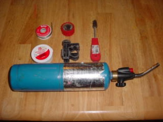 Tools Needed to Solder a pipe
