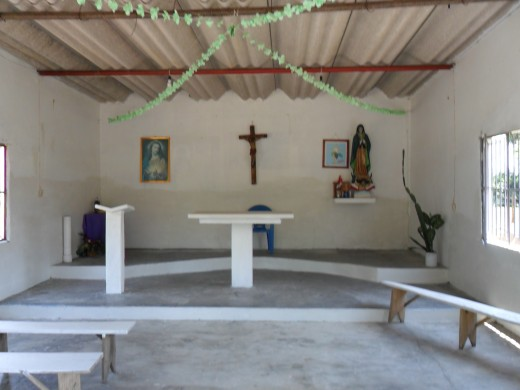 Inside of the Catholic Church, Los Soldados