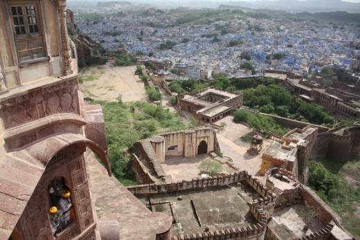 Jaipur from Mehrangarh Fort