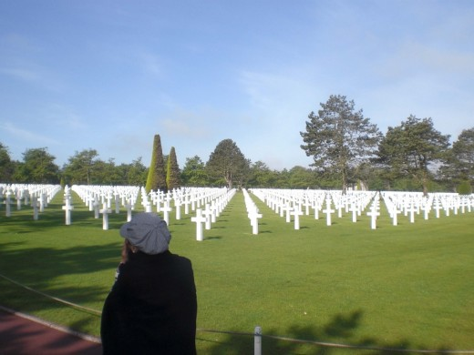 Normandy Beach War Memorial