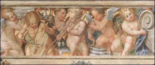 Aurelio Luini's fresco in Milan's San Simpliciano
