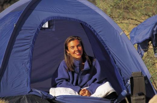 A Blue Tent