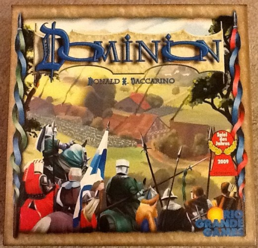 Dominion is a good game to help teach strategy to youngsters.
