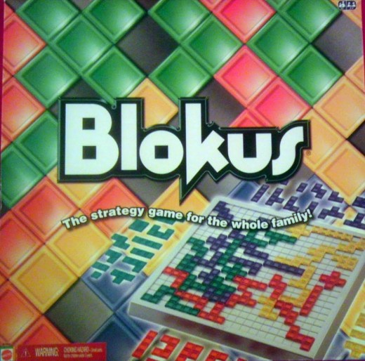 Blokus encourages spatial thinking.
