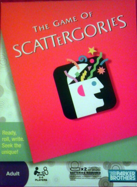 Scattergories will help teach proper spelling.