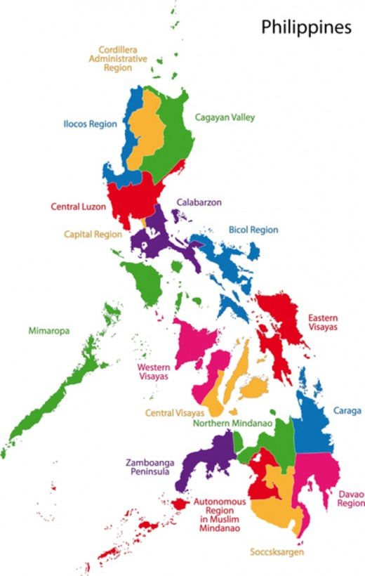 philippine regions History regions first came to existence in on september 24, 1972, when the provinces of the philippines were organized into eleven regions under presidential decree № 1 as part of the integrated reorganization plan of president ferdinand marcos since that time, other regions have been created and some provinces have been transferred from.