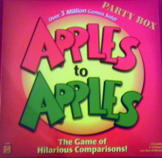 Apples to Apples will generate lots and lots of laughs.