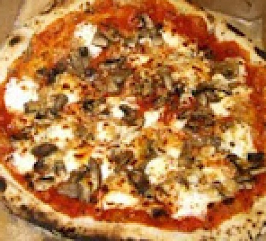 Inferno's Wood Fire Pizza: Veggie Pizza
