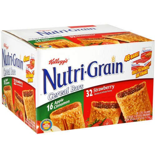 Nutri grain bars