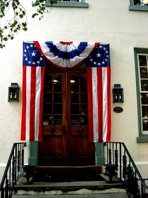Patriotism Does Not Stop at the Door.