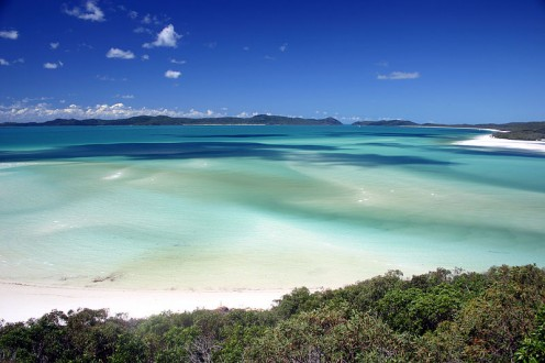 Whitehaven Beach has many unique characteristics that make it one of the world's best beaches.