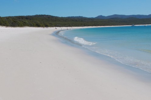 Like many of Australia's top beaches, Whitehaven is a long and wide beach.
