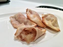 Apple Pie Baked Dumplings (wontons)