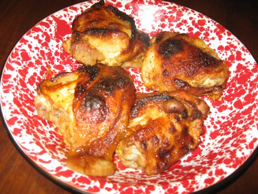 I use a lot of oven baked chicken recipes.