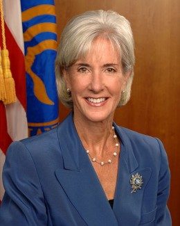 Kathleen Sebelius, Secretary of Health and Human Services. The Department of Health and Human Services administers Medicare