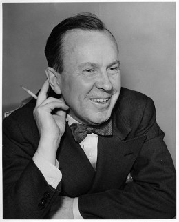 Lester B. Pearson, 14th Prime Minister of Canada (1963-1968.) It was during his time in office that Canada passed universal health care.