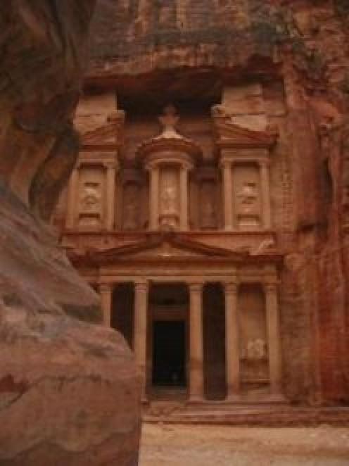 Entrance to the Treasury of Pharaoh