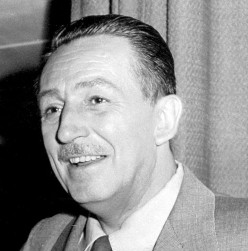 Walt Disney - the  genius creator of Mickey Mouse